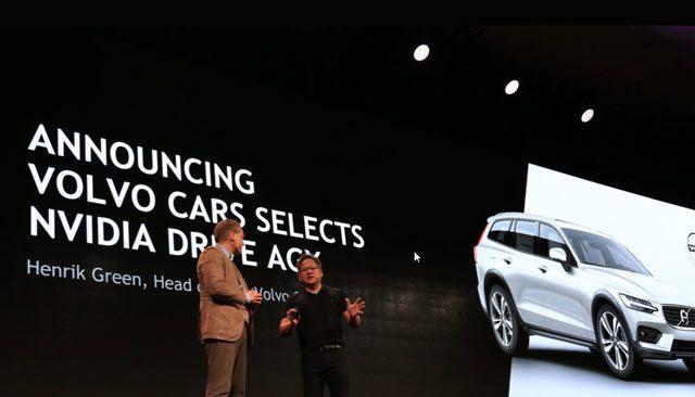 Presentación del pacto entre Volvo Cars y NVIDIA - Foto: Volvo