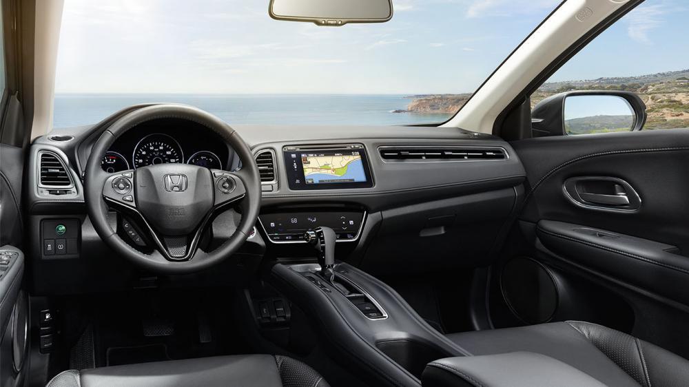 Interior del Honda HV- R 2018