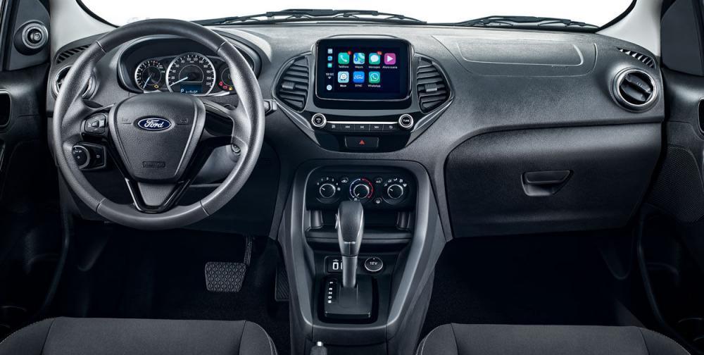 Espacio interior de ford figo 2019