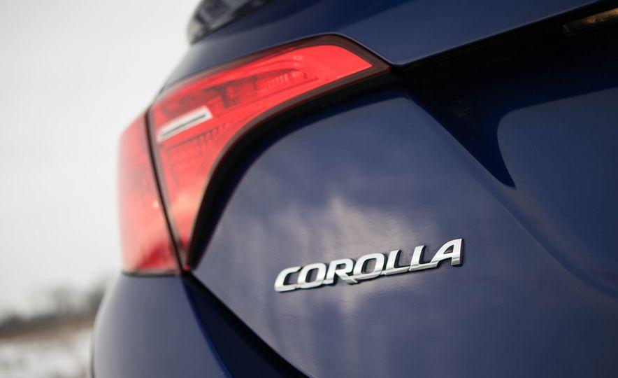 Toyota Corolla 2018 es más bien un auto para la ciudad