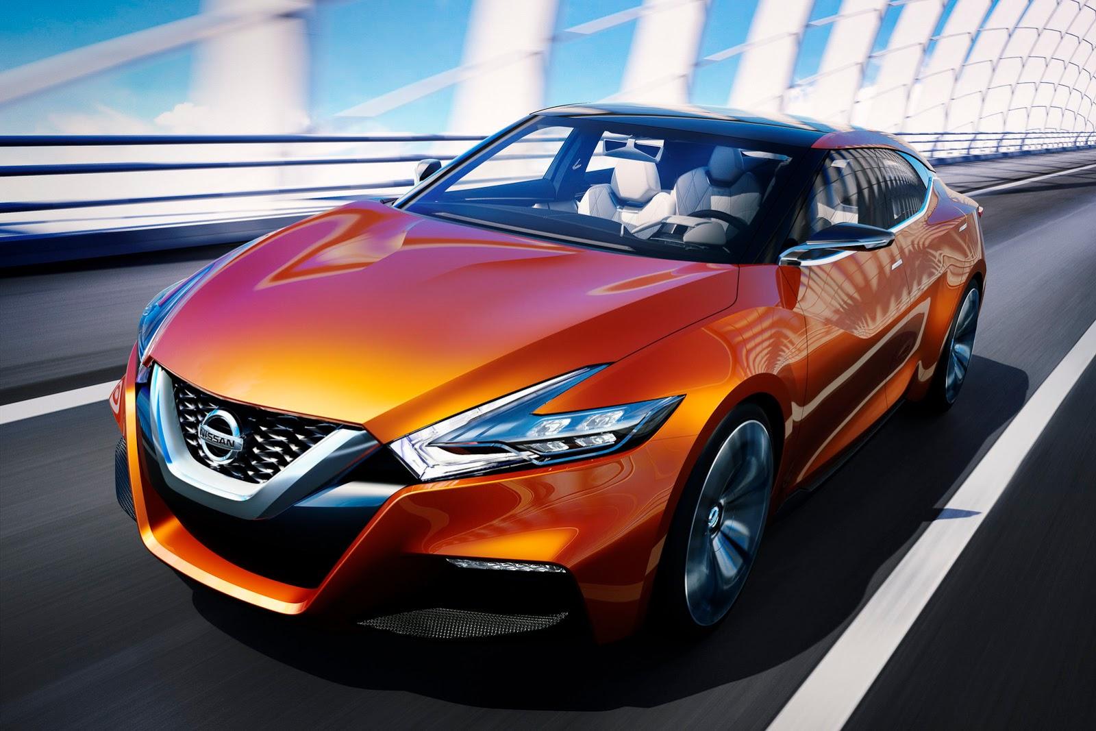 Nissan Maxima 2019 Sports Sedan Concept