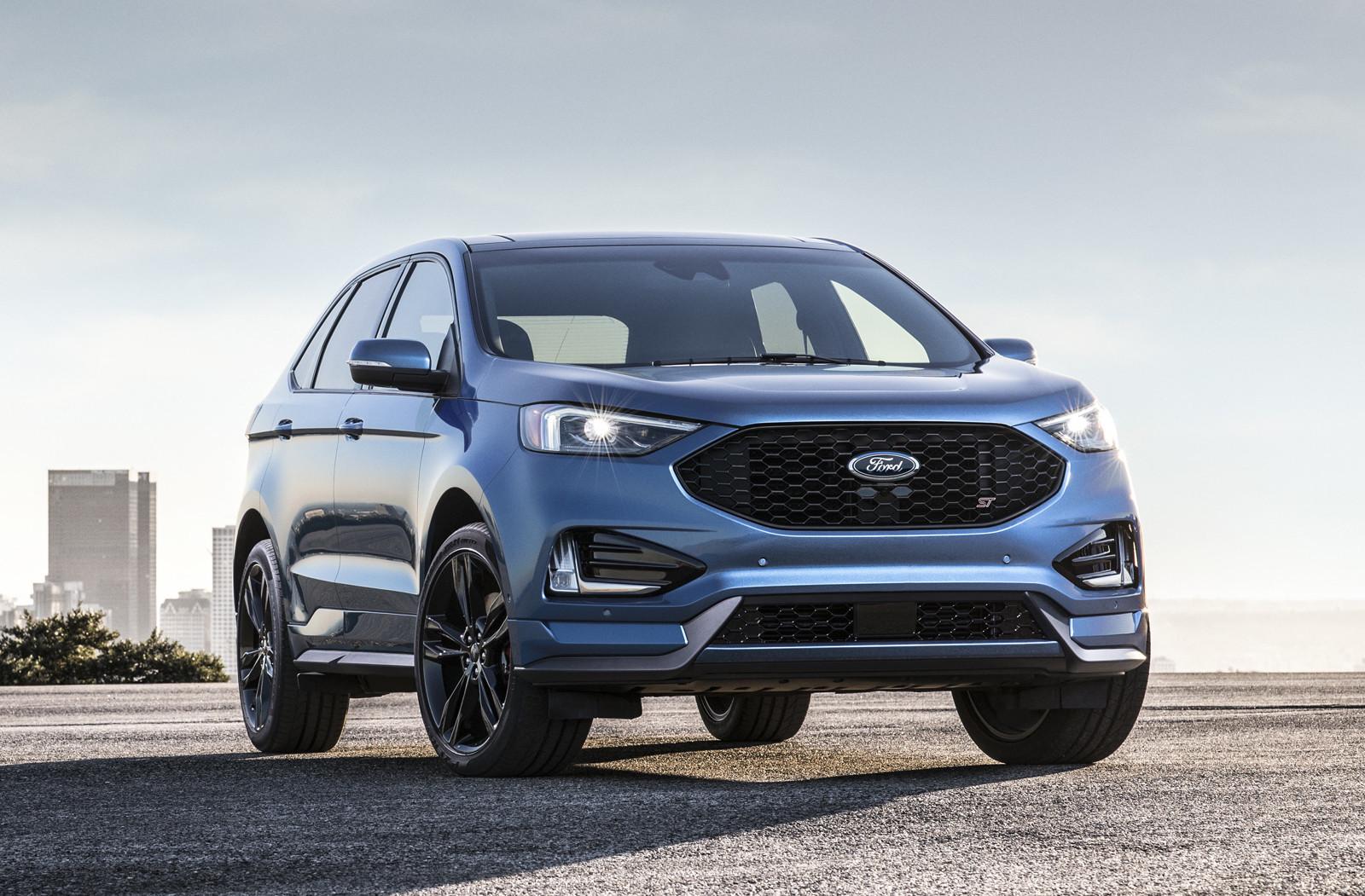 ford edge 2019 color azul lanzado