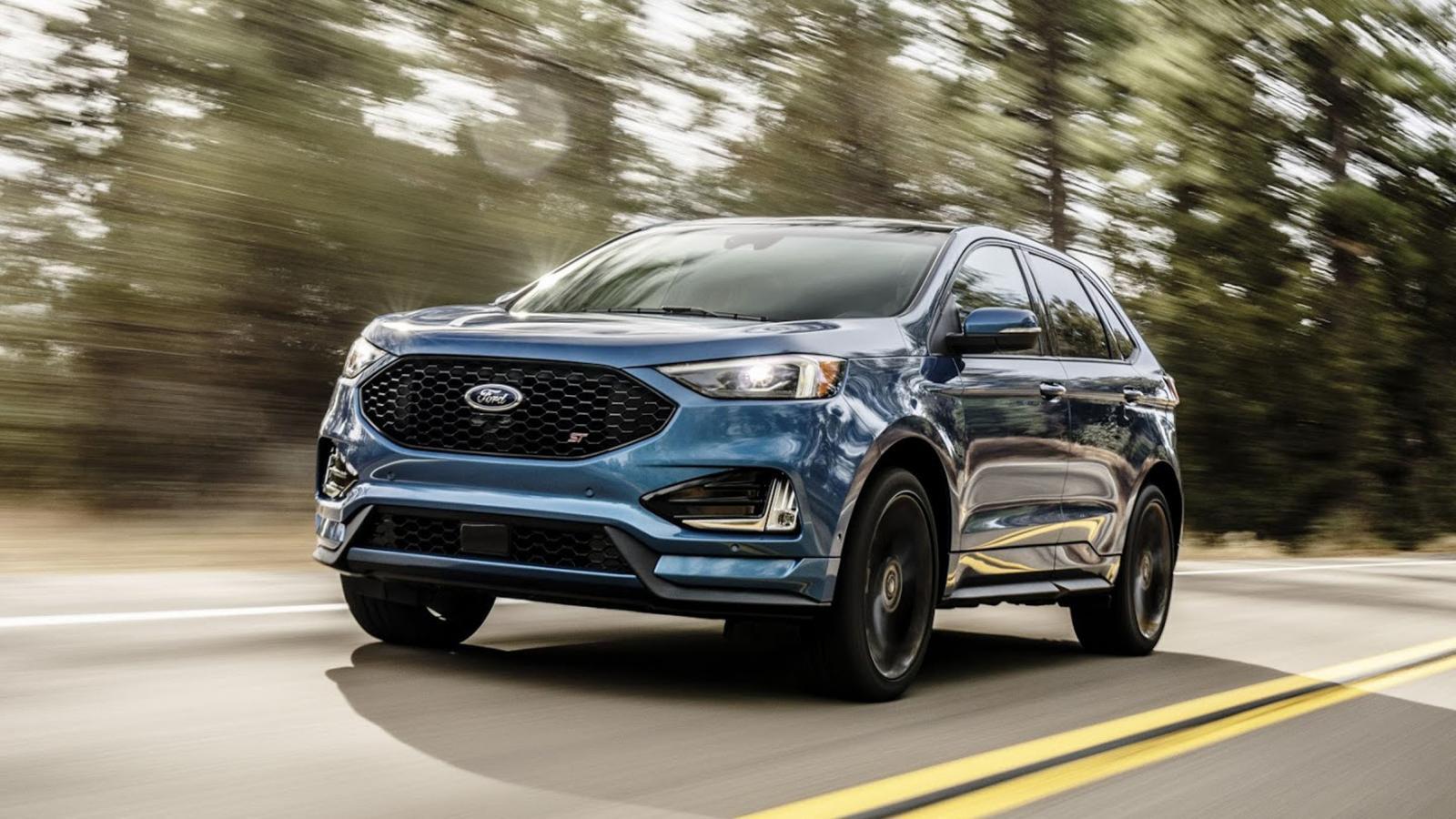 Ford Edge 2019 color azul