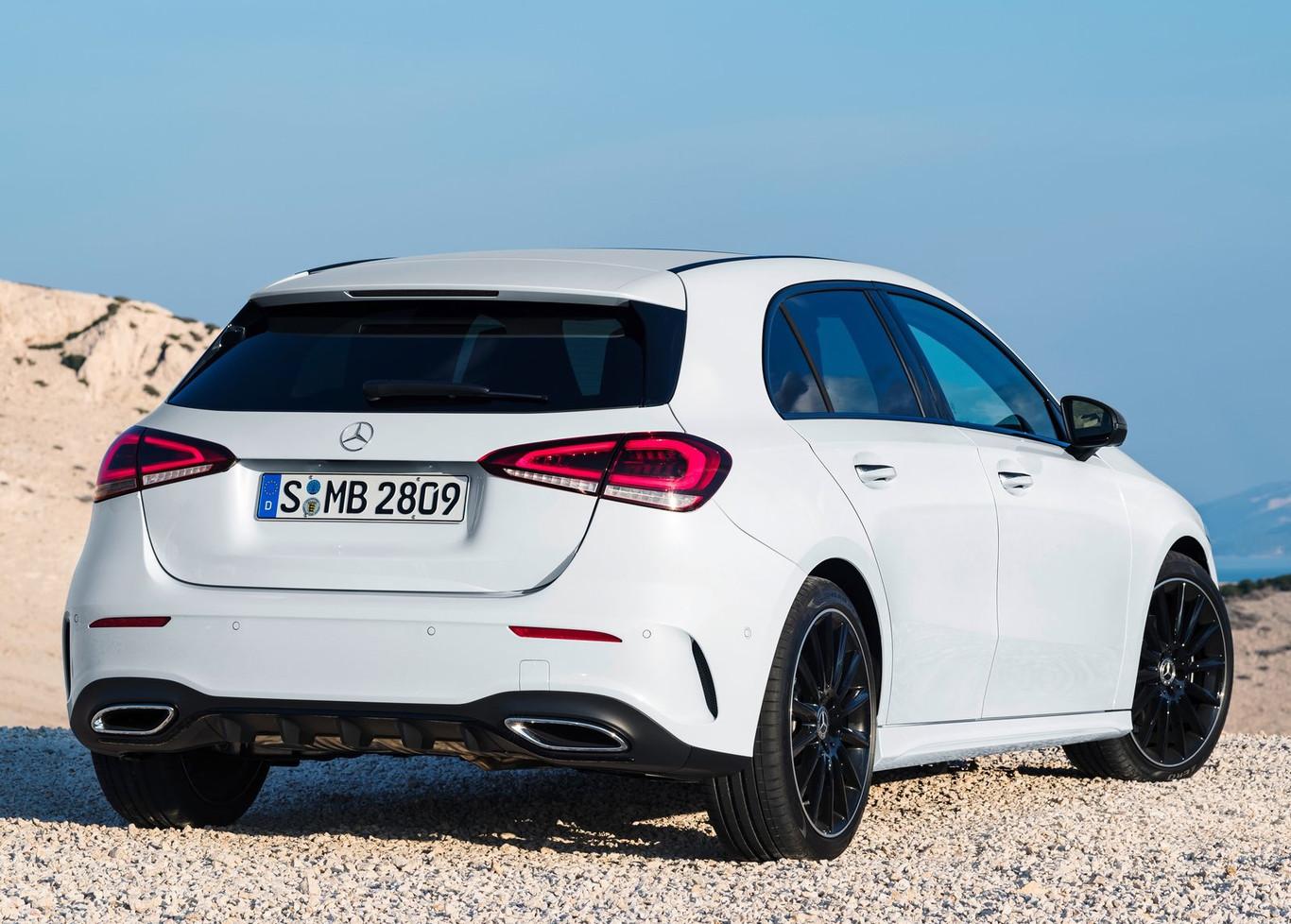 En su estética, el Mercedes-Benz clase A 2019, es la combinación entre juventud y elegancia