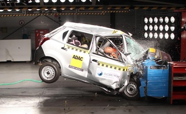 Ambos coches se quedaron cortos en materia de seguridad