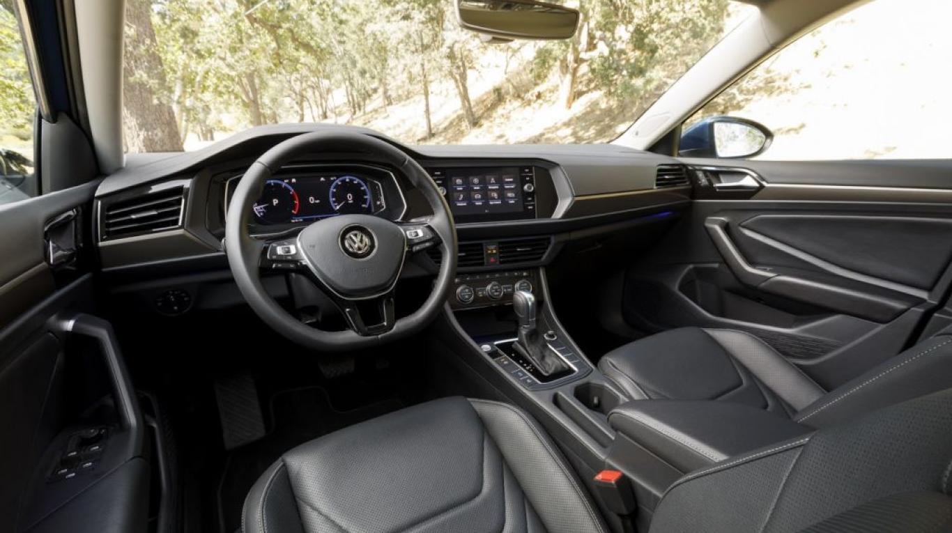 Interior de VW Vento 2018