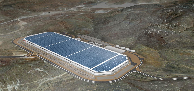 La gigafábrica de Tesla