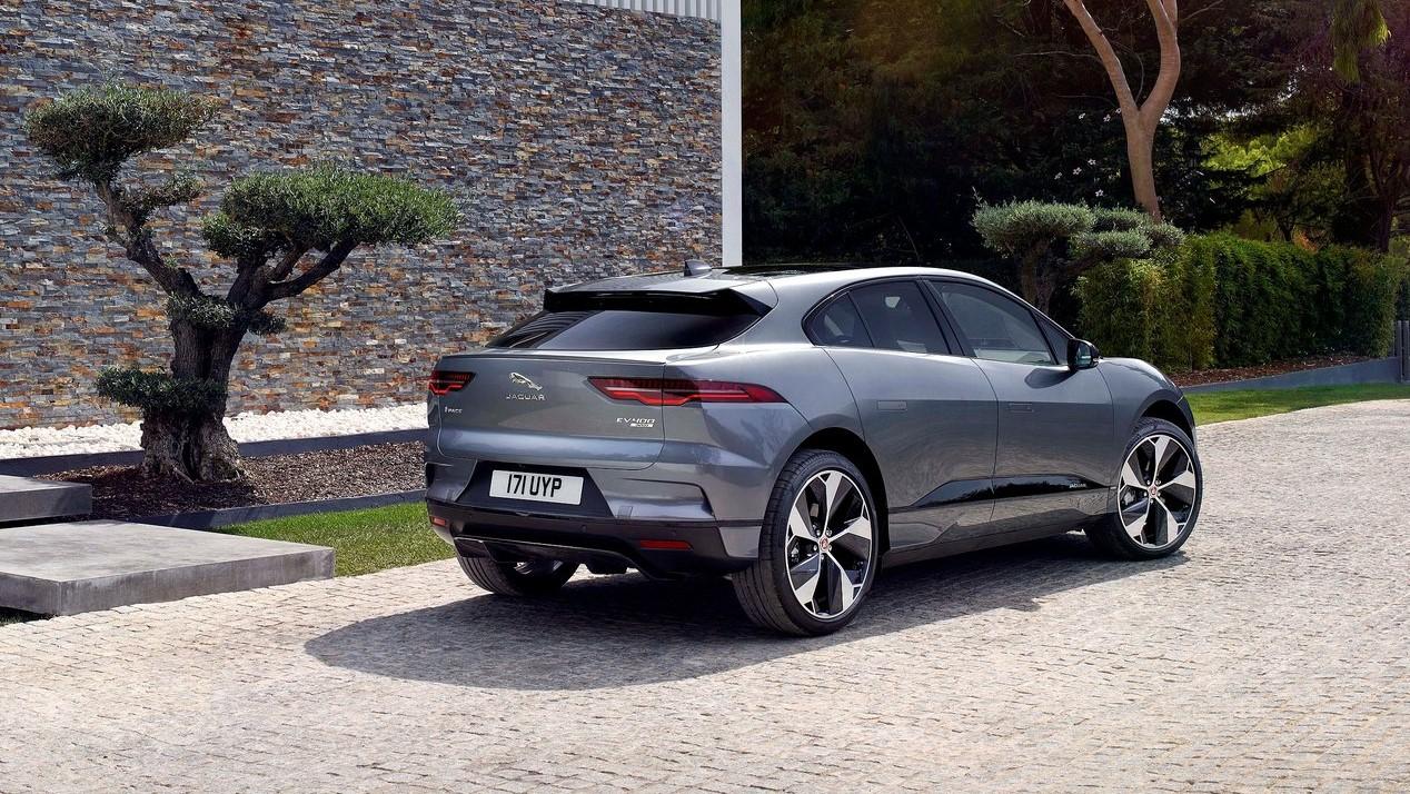 Jaguar I-Pace color gris