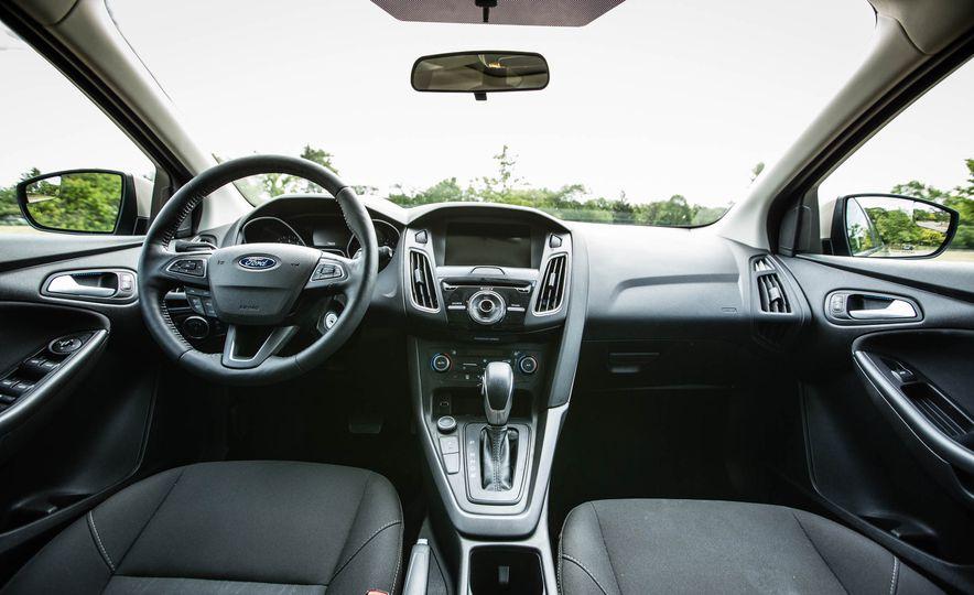 Ford Focus 2018: Interior