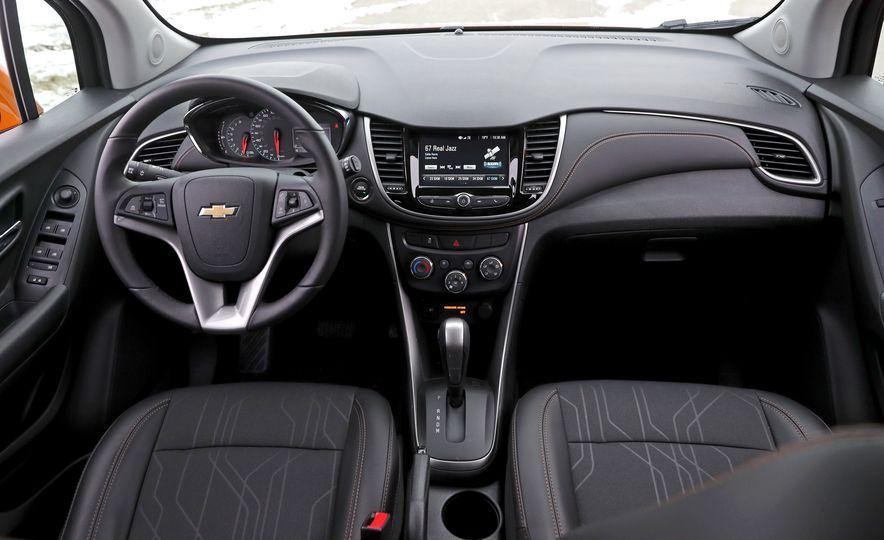 Chevrolet Trax 2018: Interior