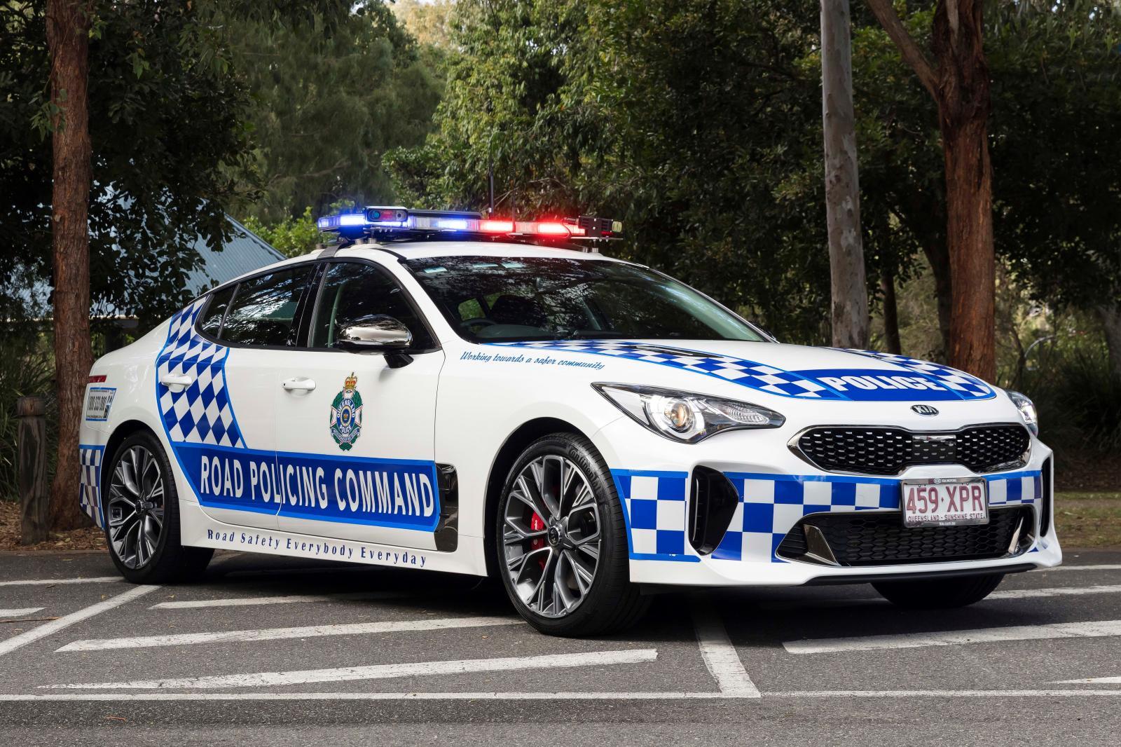 Un KIA para la policía de Queensland