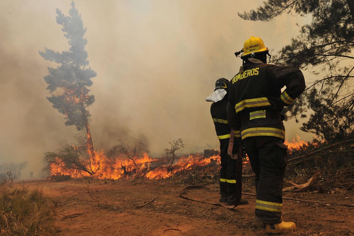 Como escapar de un incendio forestal