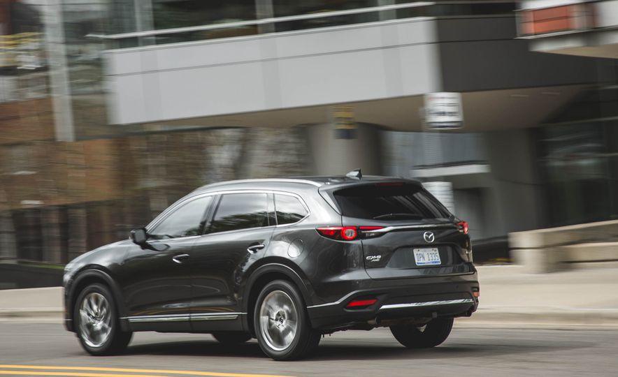 Ventajas y desventajas de la Mazda CX-9 2018