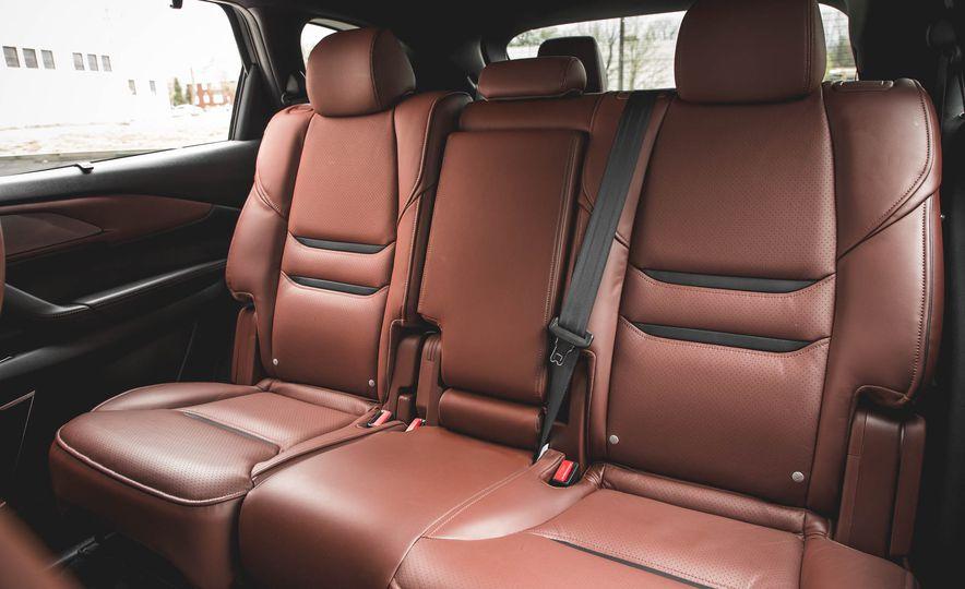La CX-9 se equipa con asientos muy cómodos