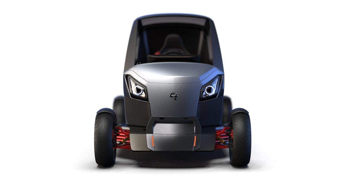 La empresa israelí City Transformer trabaja en un auto plegable que podría solucionar los problemas de aparcamiento en las grandes ciudades