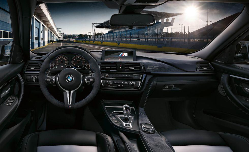 BMW M3 2018: precios y versiones en México Un tablero revestido totalmente en piel de BMW M3 precio modelo 2018