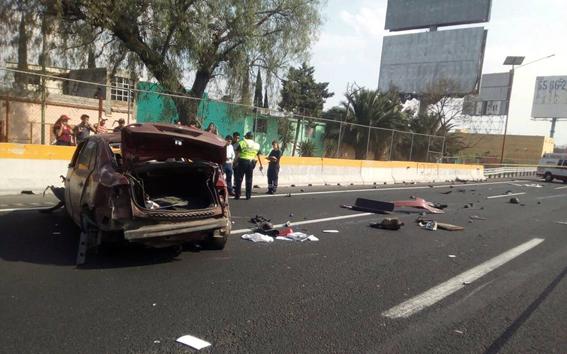 Donde hay más accidentes en Mexico