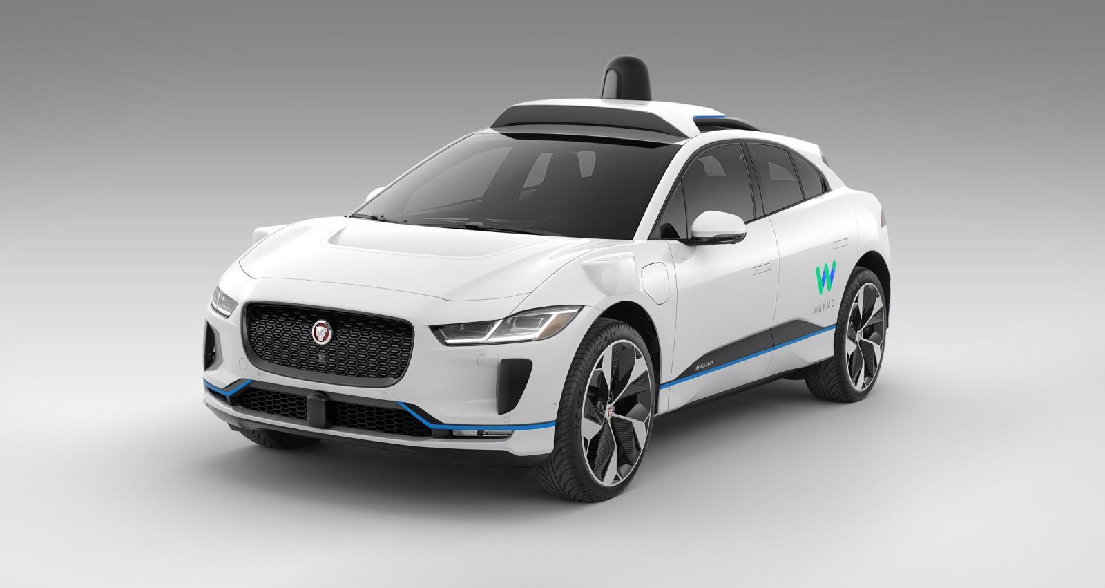 """Los autos de Waymo están equipados para """"ver"""" 360 grados a su alrededor, todo el tiempo"""