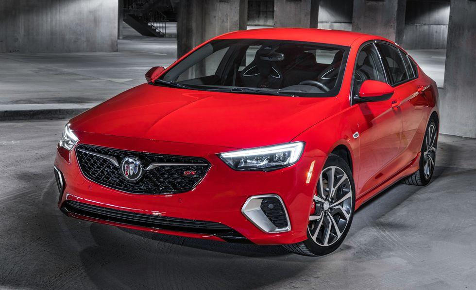 Buick Regal GS 2018 precio: precios y versiones en México Exterior del Buick Regal GS 2018 precio