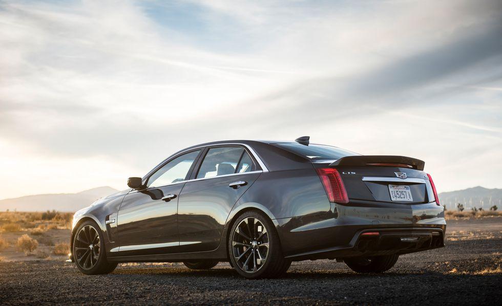 Cadillac CTS V 2018: precios y versiones en México Parte externa del Cadillac CTS V 2018 precio