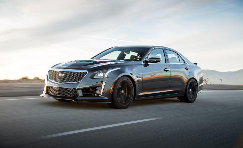 Cadillac CTS V 2018: precios y versiones en México Cadillac CTS V 2018 precio color negro