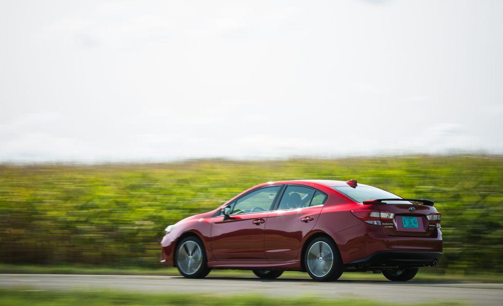 Subaru Impreza 2018: precios y versiones en México Subaru Impreza precio modelo 2018 color rojo