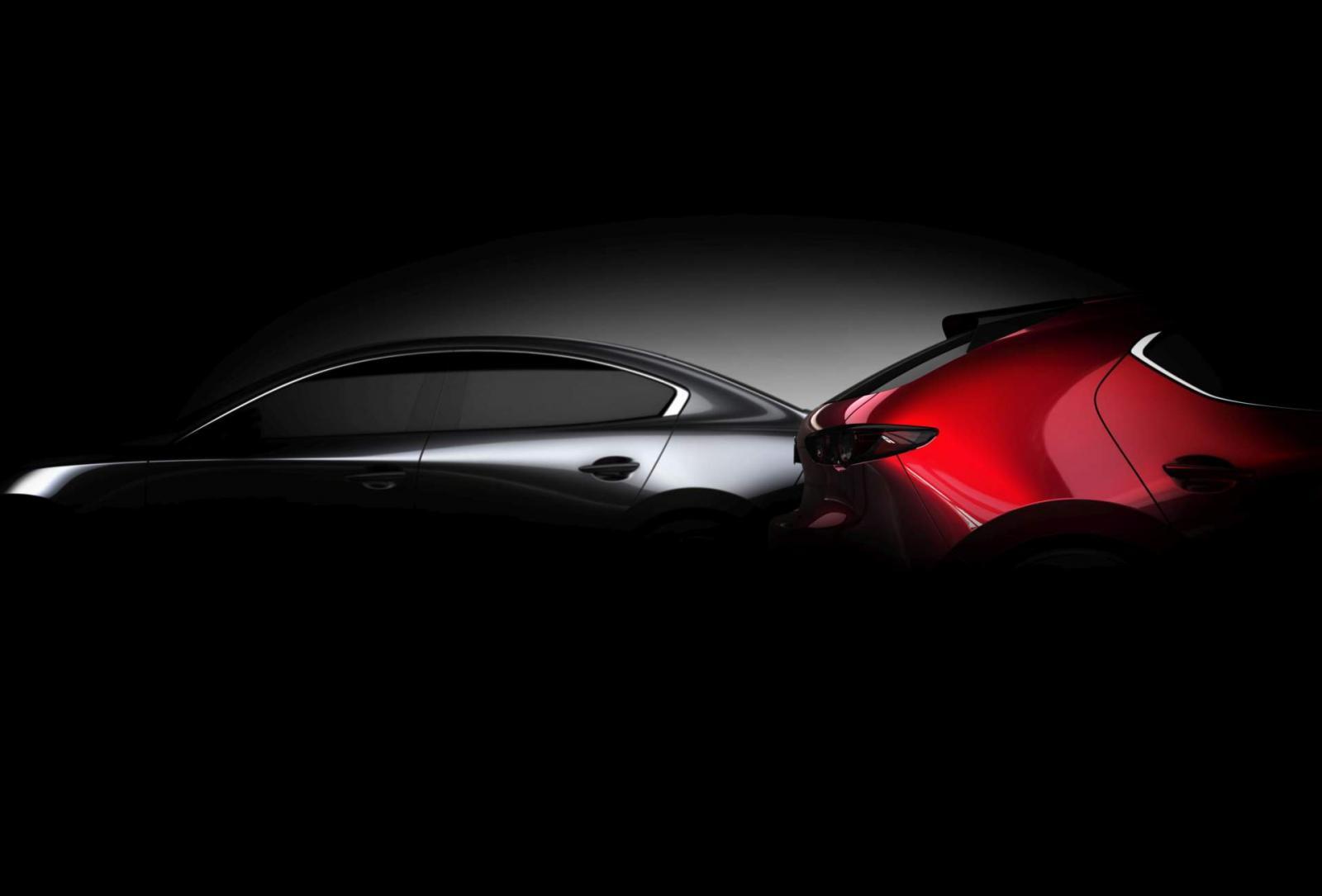 Mazda 3 2019 teaser