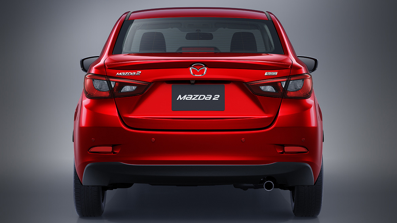 Diseño Mazda2 sedán i Touring 2019