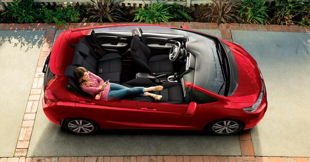 La versatilidad del espacio interior es la característica más relevante del Honda Fit Hit CVT 2019