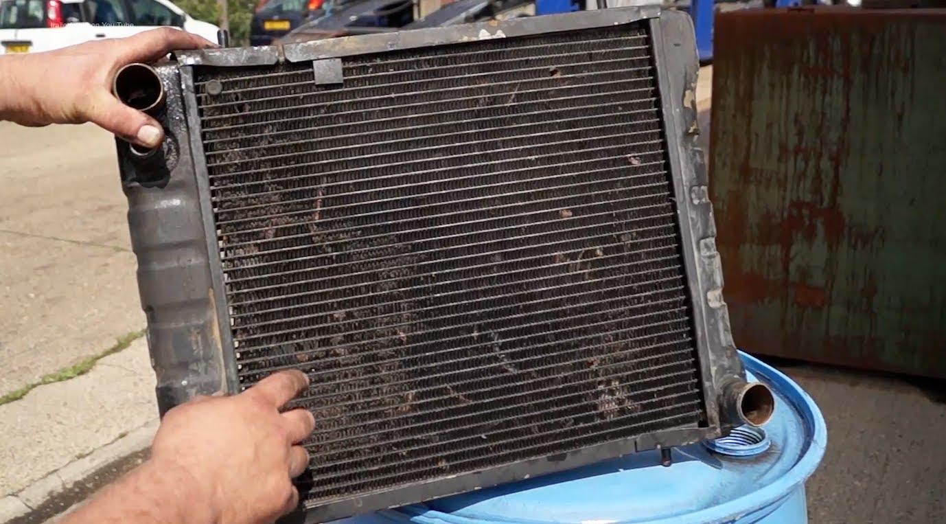 Cómo limpiar un radiador?