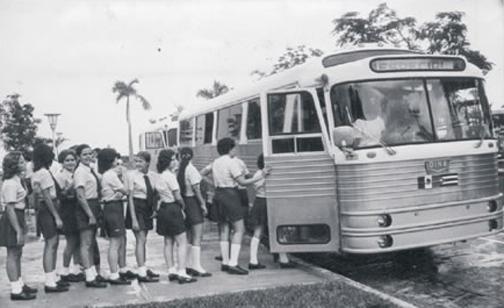 DINA representó movilidad en la década de los cincuenta