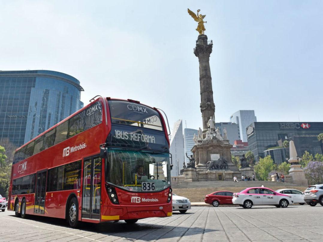 El Metro Bus pertenece a la empresa mexicana DINA