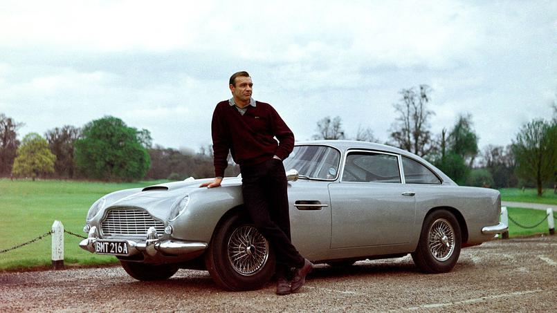 James Bond y el Aston Martin DB5