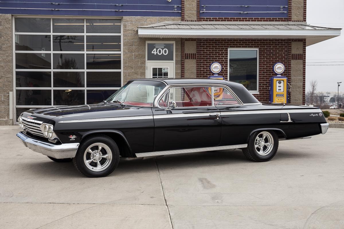 Chevrolet Impala 1962, el más veloz de la época
