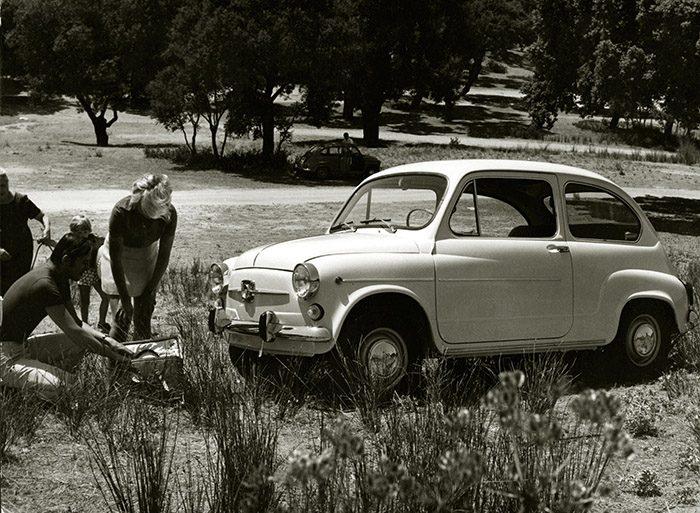 El SEAT 600 era dinámico y muy económico