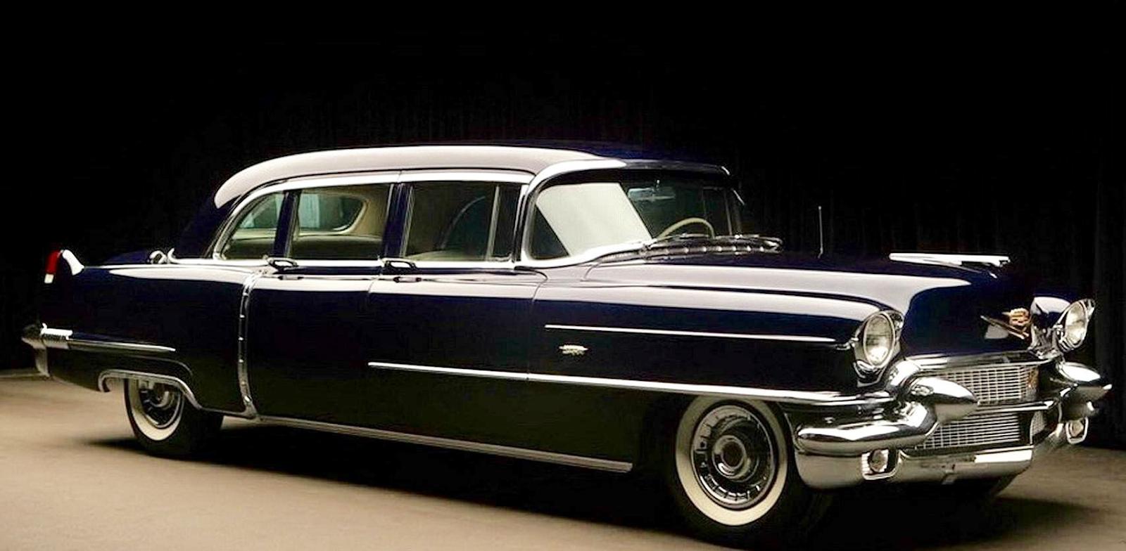 Cadillac Fleetwood 75 Limousine 1955, uno de los más lujosos