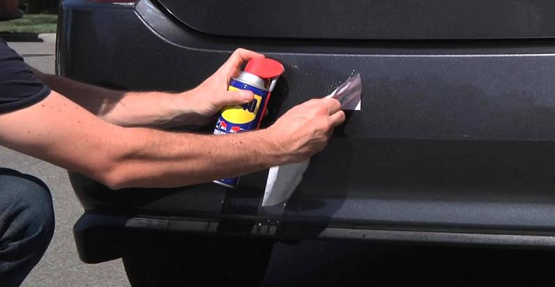 Como quitar calcomanias del carro - tip muy útil para ti