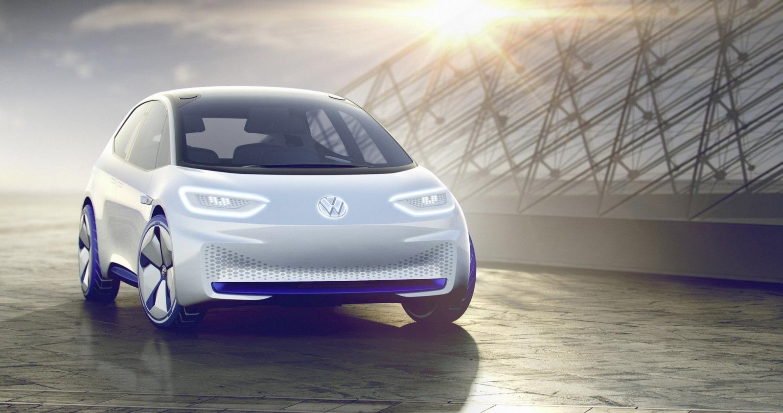 El modelo I.D. EV Volkswagen