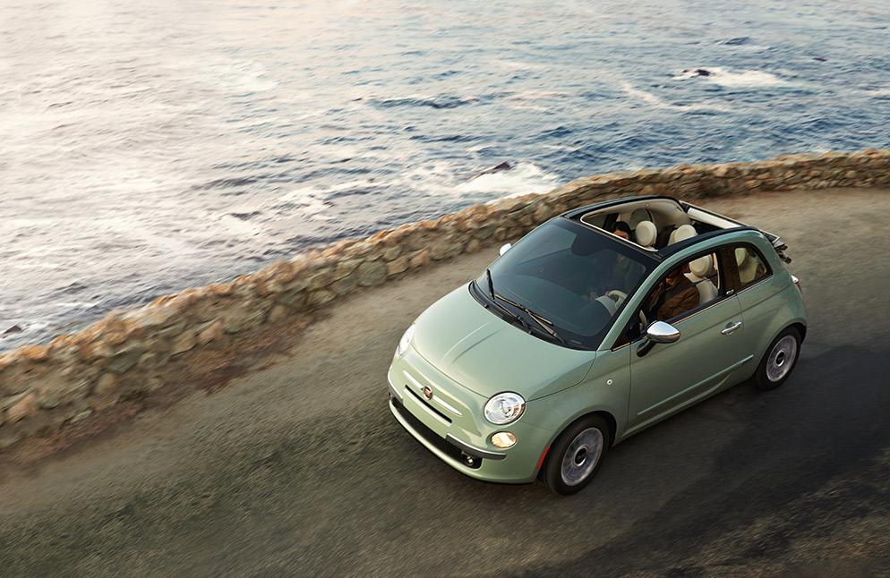 Fiat 500 caracteristicas con quemacocos
