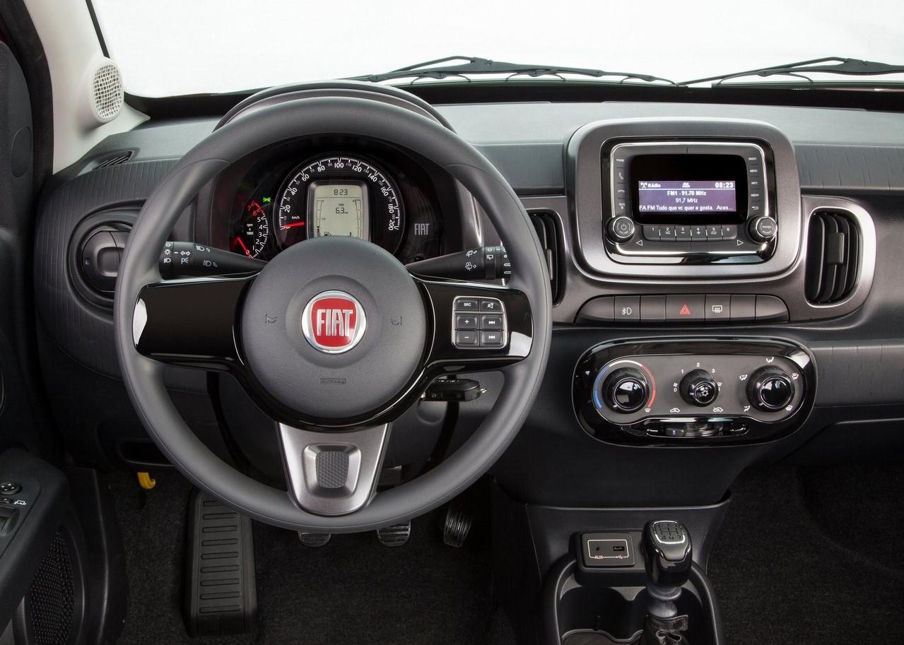Fiat Mobi caracteristicasversion Way 2018