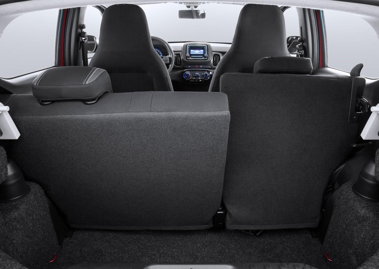 Fiat Mobi caracteristicas Mobi Way interior