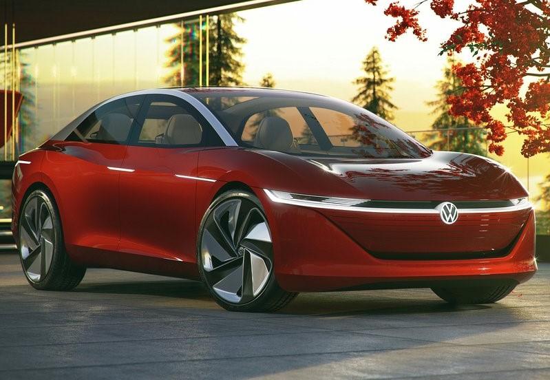 Volkswagen de color rojo