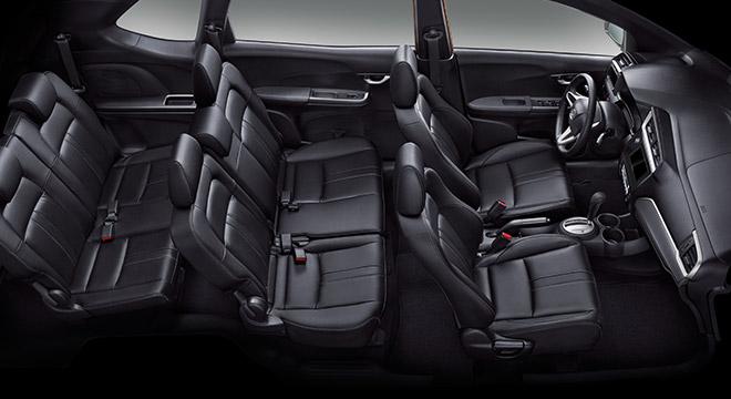 Interior de la Honda BR-V 2018