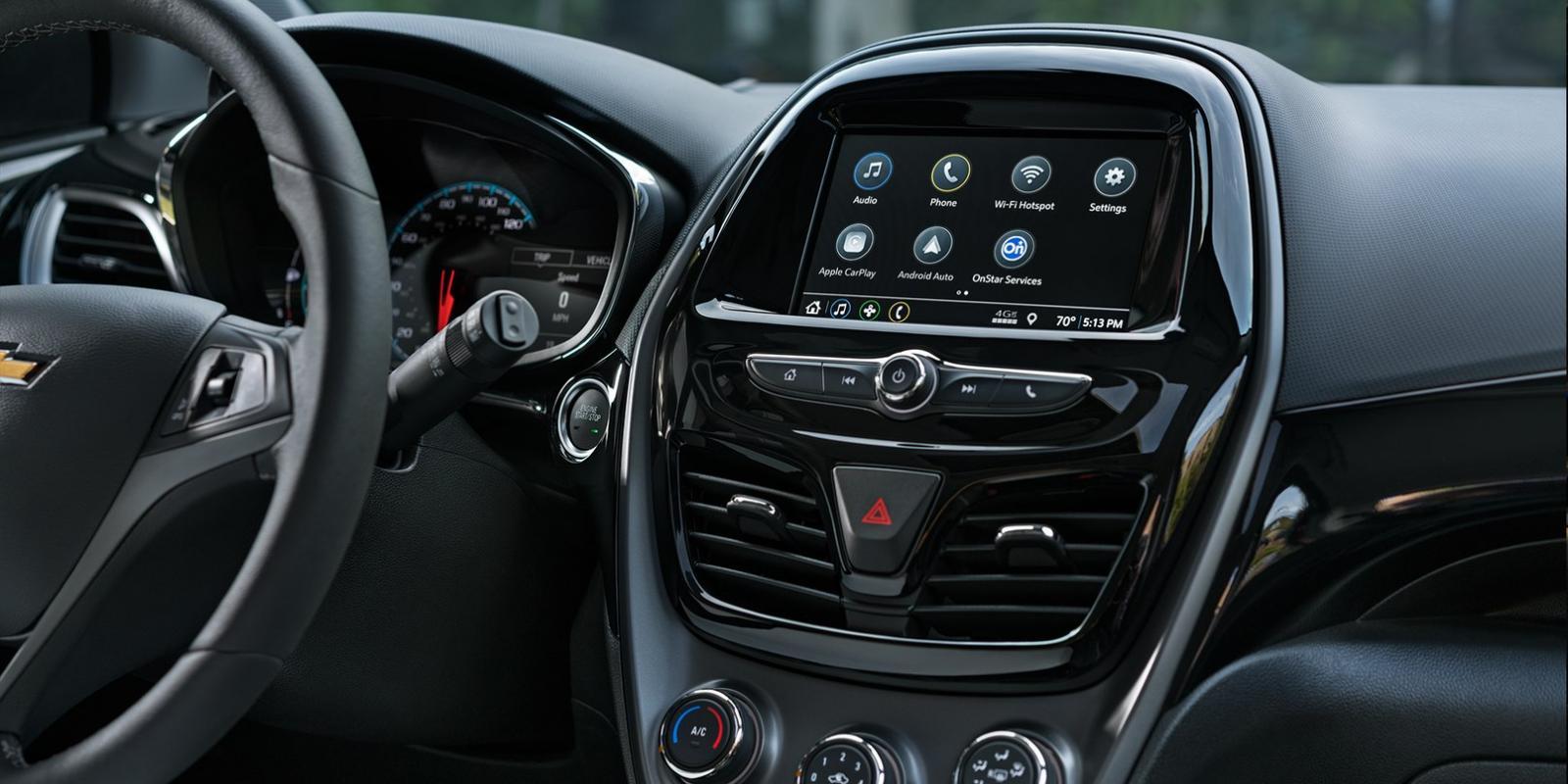 Pantalla táctil de 7 pulgadas de Chevrolet Spark 2019 precio en México