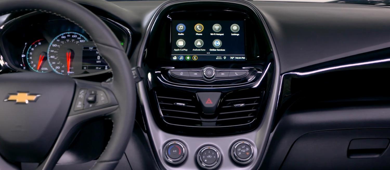 Espacio interior estético y práctico de Chevrolet Spark 2019 precio en México