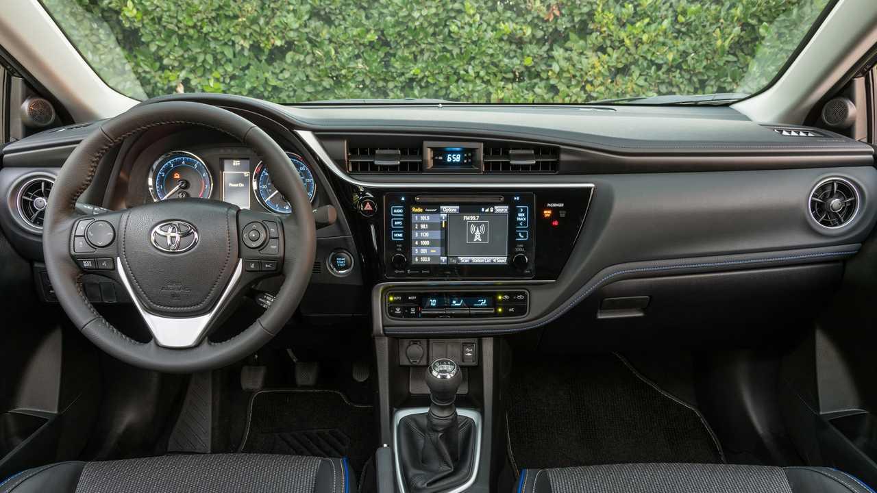 Tablero del Toyota Corolla 2018