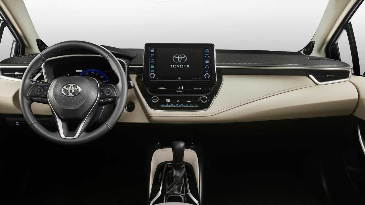 Tablero del nuevo Toyota Corolla 2020