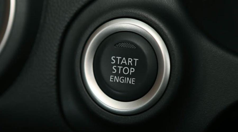 Botón de encendido del motor del Dodge Attitude 2018
