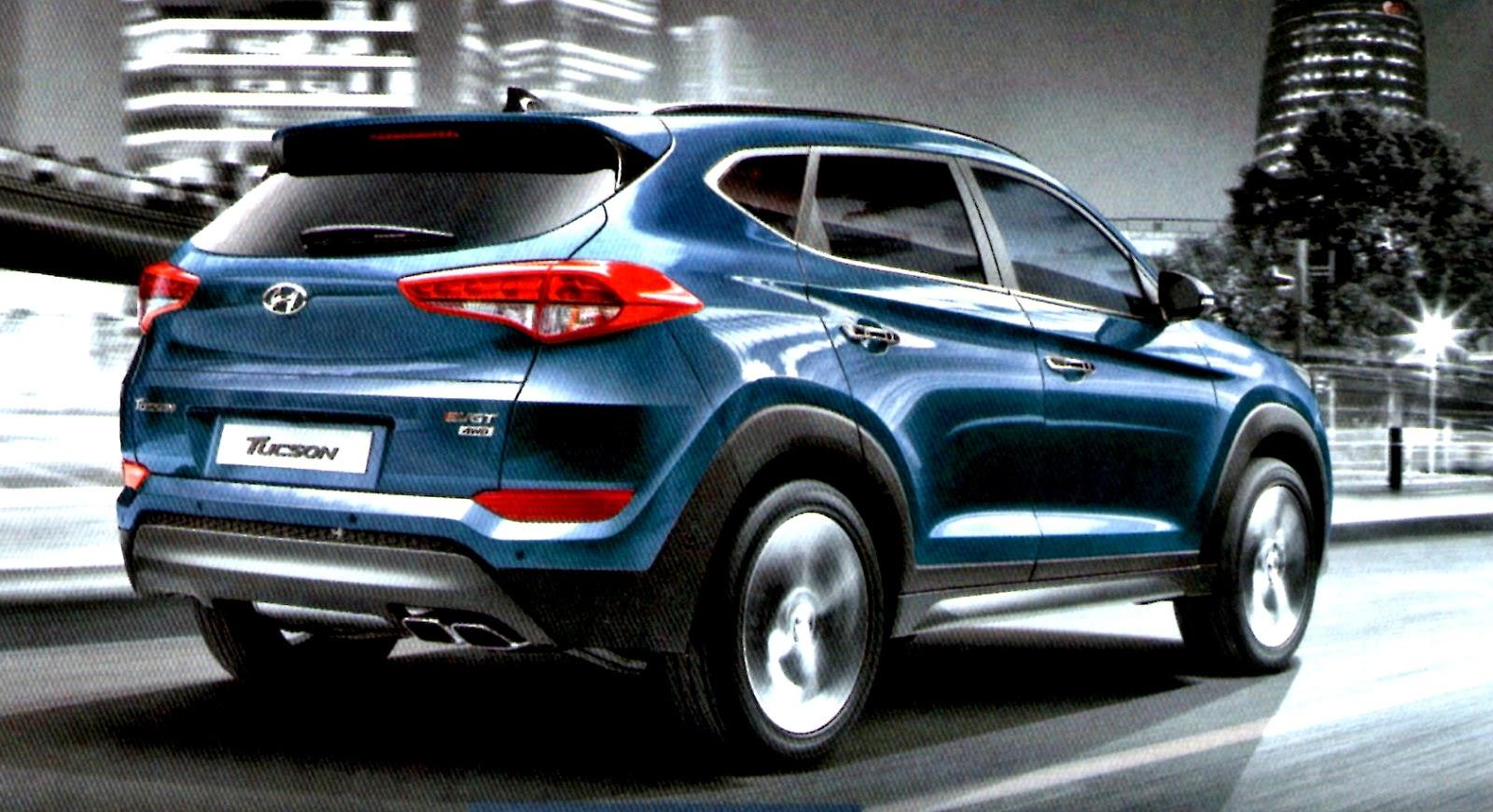 Exterior De Hyundai Tuscon 2017