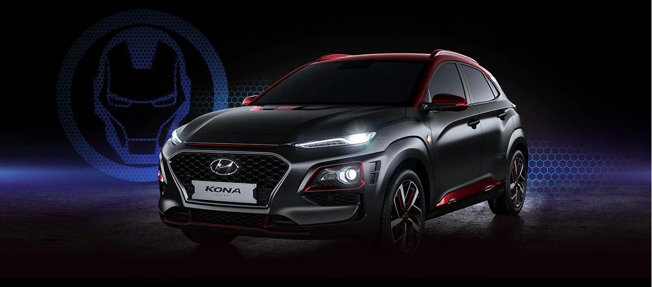 Hyundai Kona Iron Man edición especial 2019
